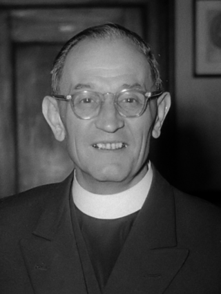 """Martin Niemöller (1952)"" by J.D. Noske / Anefo - Nationaal Archief. Licensed under CC BY-SA 3.0 nl via Commons - https://commons.wikimedia.org/wiki/File:Martin_Niem%C3%B6ller_(1952).jpg#/media/File:Martin_Niem%C3%B6ller_(1952).jpg"